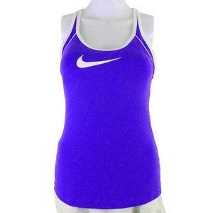 Nike Purplish Blue Racerback Tank with Padding